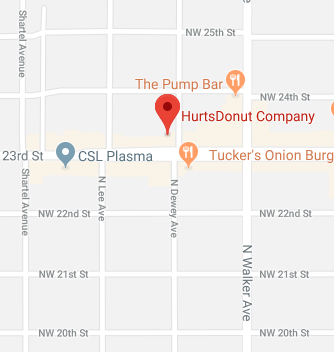 Hurts Donut Map