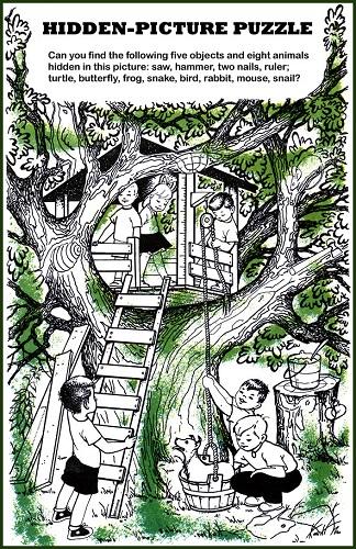 Tree House Puzzle 324x500